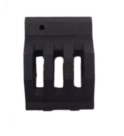 Skeletonized Low Profile Micro Gas block