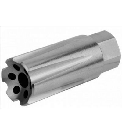 1/2X28 (5.56) Linear Compensator Sound & Concussion Forwarder/ Stainless Steel (USA Made)