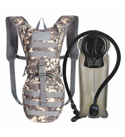 Unigear ACU Camo Tactical Hydration Pack Backpack 900D with 2.5L Bladder