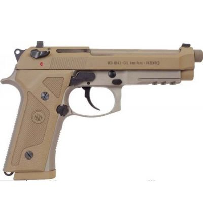 M9A3 9MM FDE 5 10+1 DECOCKER