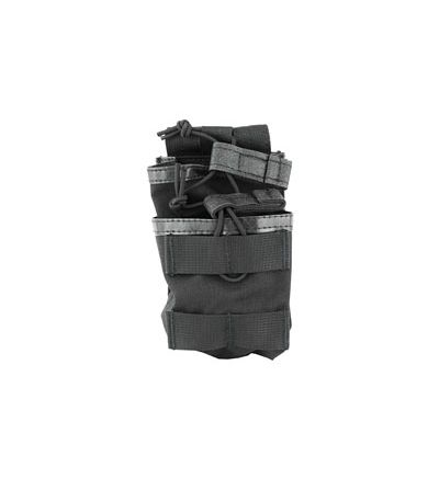 Blackhawk tier stacked magazine pouch for 20rd M4/FAL, black