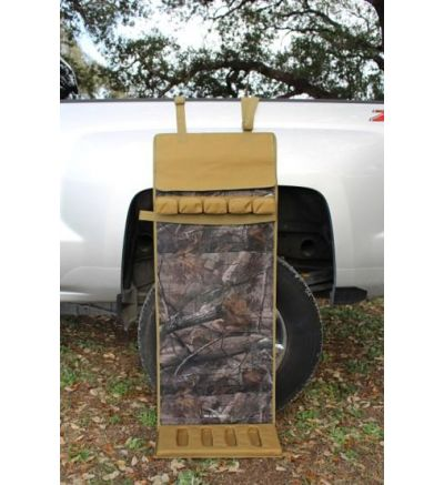 Bird Down Brand Ultimate Shotgun Rest - Camo and Tan with Barrel Cover and Strap