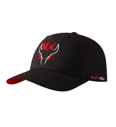 Blazing Bull Hat - Black