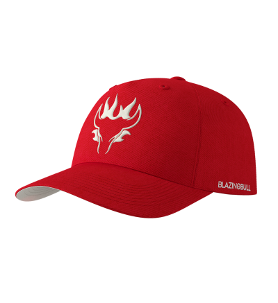 Blazing Bull Hat - Red