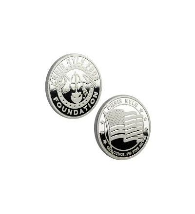 Chris Kyle Frog Foundation 1 ounce, .999 Fine Proof Silver Coin