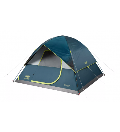 Coleman Dark Room 6-Person Dome Camping Tent