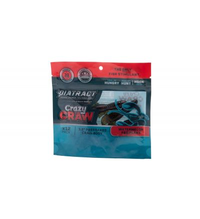 DIATRACT Crazy Craw Watermelon with Red Flake