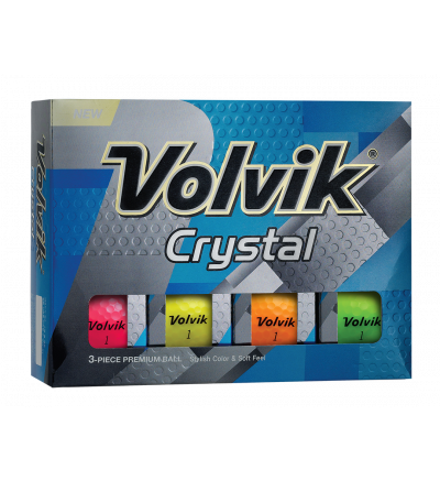 Volvik Crystal Golf Balls - Assorted