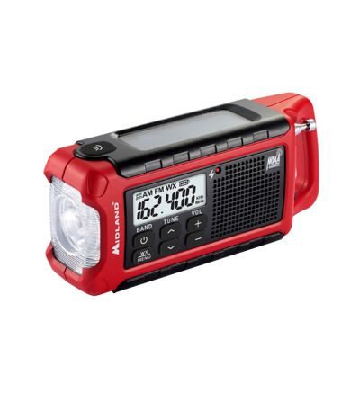 Midland Radio ER210 E+Ready® Emergency Crank Weather Radio