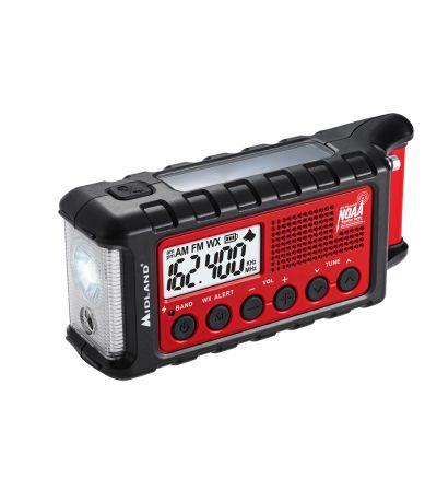 Midland Radio ER310 E+Ready® Emergency Crank Weather Radio