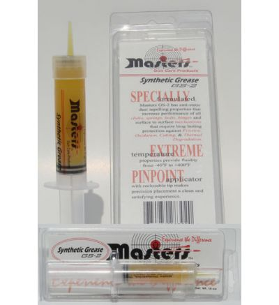 Masters Gun Care GS-2 Grease Syringe
