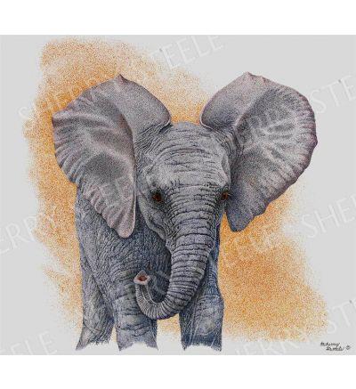 Guardian and Guide – Elephants by Sherry Steele