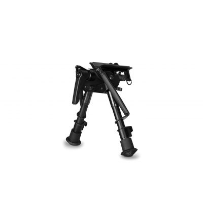 Hawke Swivel and Tilt Bipod with Lever 6-9 Inch.