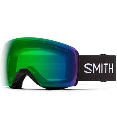 Smith Skyline XL Snow Goggle Mens (Black '21, Chromapop Everyday Green Mirror)