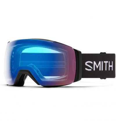 Smith I/O MAG XL Snow Goggle - Black '21   Chromapop Photochromic Rose Flash
