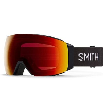 Smith I/O MAG Snow Goggle - Black '21   Chromapop Sun Red Mirror