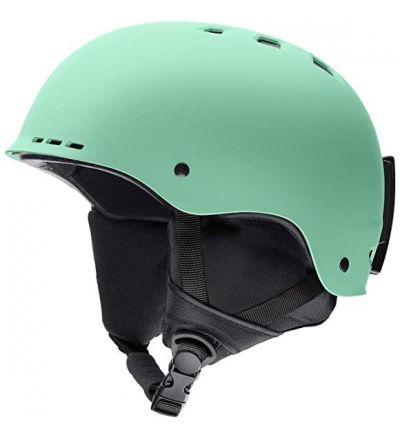 Smith Optics Unisex Adult Holt Snow Sports Helmet, Matte Bermuda - 51 55cm / Matte Bermuda