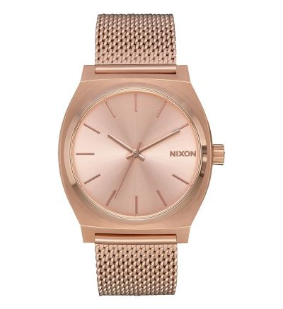 Time Teller Milanese ,  37  mm - All Rose Gold / One Size