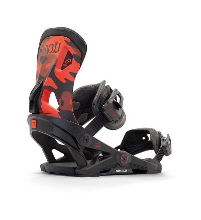 NOW Drive Snowboard Bindings Red - S