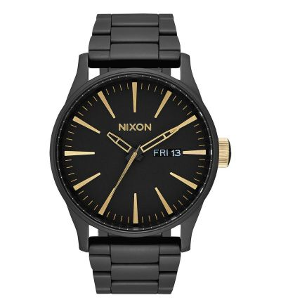 Sentry SS ,  42  mm - Matte Black / Gold / One Size