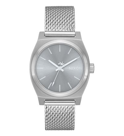 Medium Time Teller Milanese - All Silver / One Size