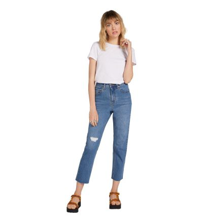 STONED STRAIGHT PANT - STANDARD ISSUE BLUE - STANDARD ISSUE BLUE / 27x27