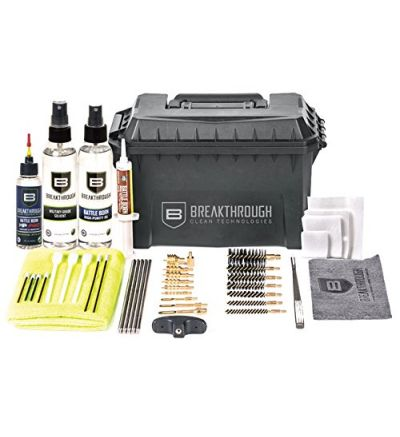 Breakthough Clean Technologies Ammo Can Universal Cleaning Kit w/ HP Pro Oil (22cal - 12ga)