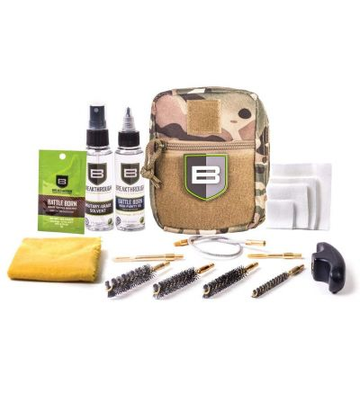 Breakthough Clean Technologies QWIC-P Pistol Pull Through Cleaning Kit (22cal - 45cal) - Camo