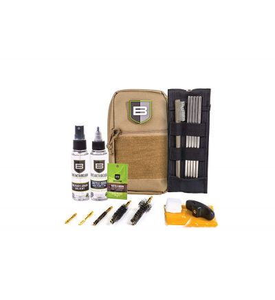 Breakthough Clean Technologies LOC-223 Long Gun Cleaning Kit (223cal / 5.56mm) - Desert Tan
