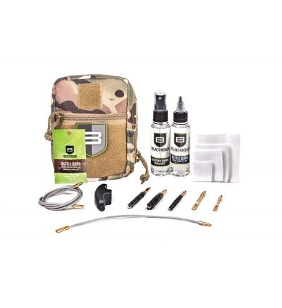 Breakthough Clean Technologies QWIC-MIL Pull Through Cleaning Kit (223cal / 30cal / 9mm) - Camo