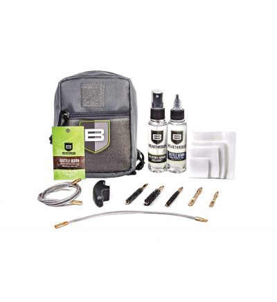 Breakthough Clean Technologies QWIC-MIL Pull Through Cleaning Kit (223cal / 30cal / 9mm) - Gray