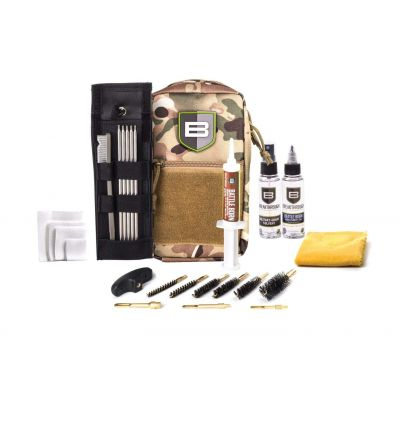 Breakthough Clean Technologies LOC-U Universal Long Gun Cleaning Kit (22cal - 12ga) - Camo