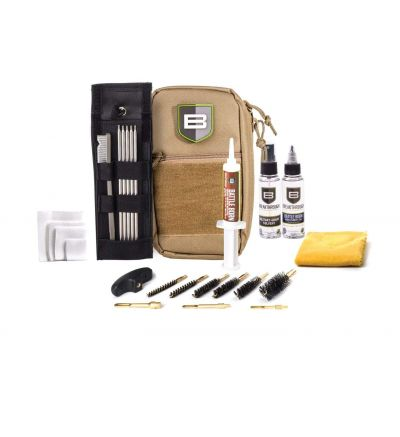 Breakthough Clean Technologies LOC-U Universal Long Gun Cleaning Kit (22cal - 12ga) - Desert Tan