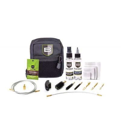 Breakthough Clean Technologies QWIC-3G 3-Gun Pull Through Cleaning Kit (223cal / 9mm / 12ga) - Black