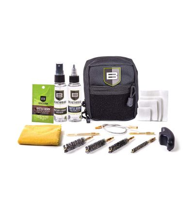 Breakthough Clean Technologies QWIC-P Pistol Pull Through Cleaning Kit (22cal - 45cal) - Black