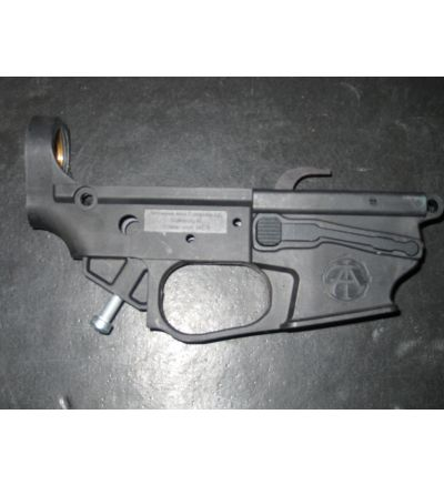 Tennessee Arms Co., TAC-9 stripped lower, Glock Mag, Black