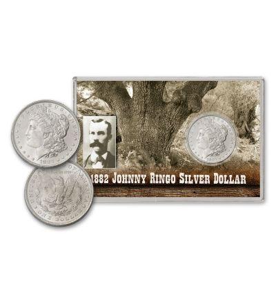 1882-O Johnny Ringo Morgan Silver Dollar BU
