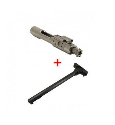 PSA 5.56 Full Auto Nickel Boron BCG (44366) & Premium T6 Forged 7075 Charging Handle (24080)