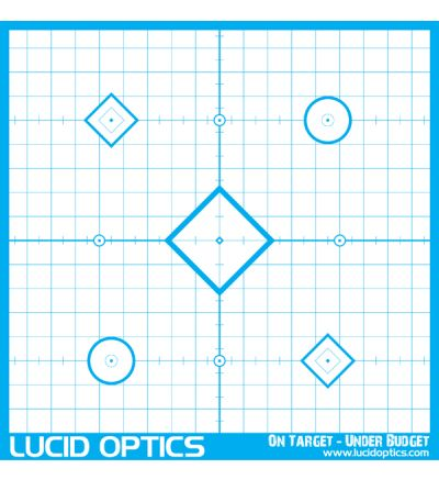 Lucid Optics Precision 'Sight In' Target