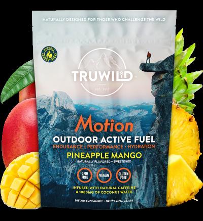 TRUWILD MOTION - NATURAL ENERGY - PINEAPPLE MANGO