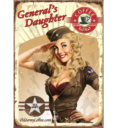 Generals Daughter Old Army Coffee