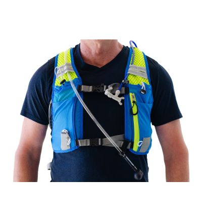 ExtremeMist Misting and Drinking Hydration Backpack (Adjustable Small-Large) (Blue)