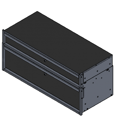 OPS Public Safety Medium SUV Pursuit Series Stacked Drawer