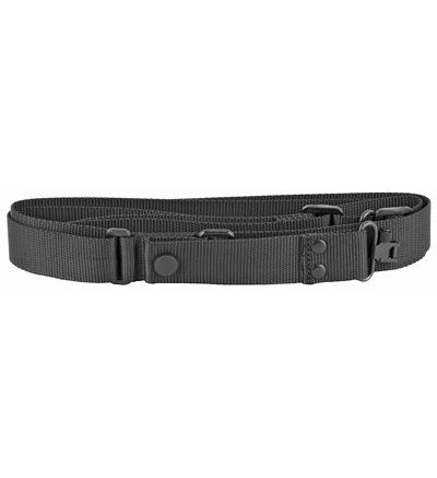 Tactical Shotgun Sling With Swivels, Black By Uncle Mikes