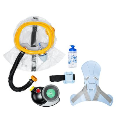 MIRA Safety CM-3M CBRN Child Escape Respirator/Infant Gas Mask w/ PAPR