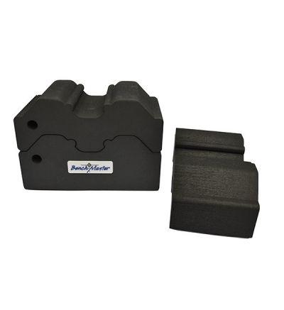Benchmaster Weapon Rack Adjustable 3 Piece Bench Block