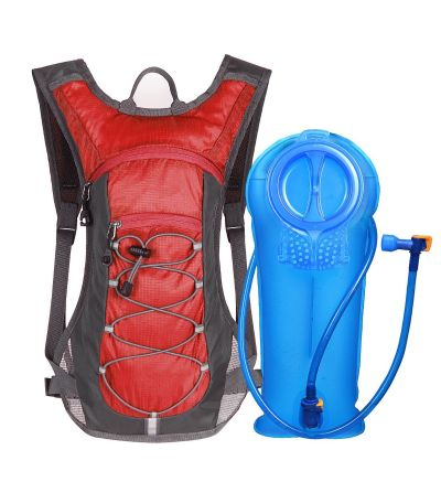 Unigear Red Hydration Pack with 70 oz 2L Water Bladder