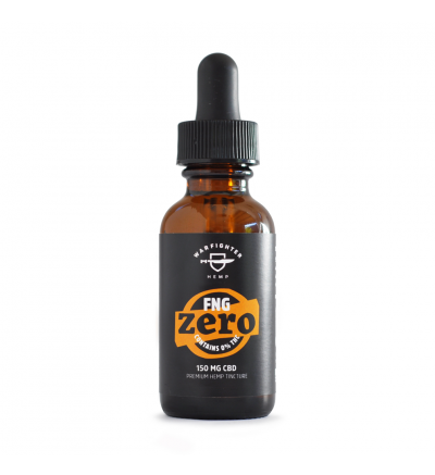 WARFIGHTER ZERO - FNG 150 MG CBD TINCTURE WITH 0% THC, PEPPERMINT FLAVOR