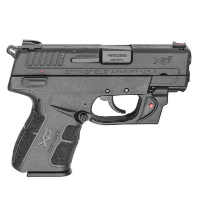 XD-E 9MM BLK 3.3 9+1 RED LSR