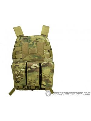 Flyye Industries MOLLE Streamlined Plate Carrier - GENUINE MULTICAM